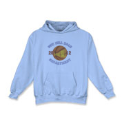 2012 Basketball - Kids Hooded Sweatshirt