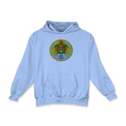 Turtle Hands Kids Hooded Sweatshirt