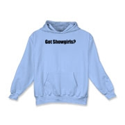 Got Showgirls? Kids Hooded Sweatshirt