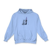 Fallen Soldiers Kids Hooded Sweatshirt