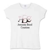 Awesome Breed Creations Women's Fitted Baby Rib Te