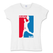 Dodgeball players unite! Classic design inspired by sports associations across America!