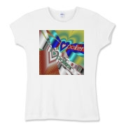 I Love Poker Women's Fitted Baby Rib Tee