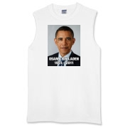 Obama Teardrop for Bin Laden Sleeveless T-Shirt