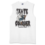 Skate And Conquer Sleeveless T-Shirt