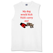 Vick's Ass Sleeveless T-Shirt