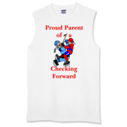 Proud of Checking Forward Sleeveless T-Shirt
