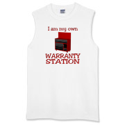 Warranty Station  Sleeveless T-Shirt