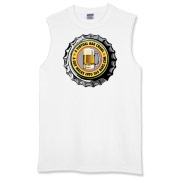 Men's Sleeveless T-Shirt with Yellow 365 Bars Logo!