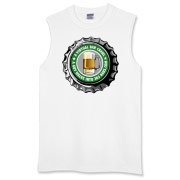 Men's Sleeveless T-Shirt with Green 365 Bars Logo!