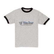 Disney Podcast Directory Logo Kids Ringer T-Shirt