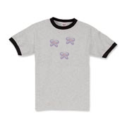 <h1><font size=2>Butterfly daisy t-shirts, hoodies and tote bags. See this design on watches, business card holders, gift mugs and clocks at<b>