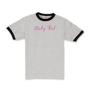 Baby Girl in pink script