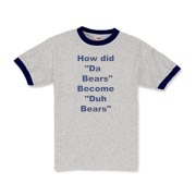 Duh Bears Kids Ringer T-Shirt