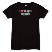 I Love To Hate Justina Women's T-Shirt