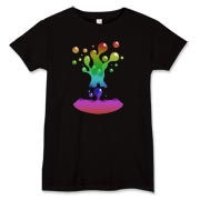 Lava Lamp Rainbow Women's T-Shirt