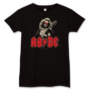 Dudely Deeds Done Dirt Cheap! The AC/DC logo done Dude style.
