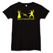 belly dancer vs. ninja Women's T-Shirt