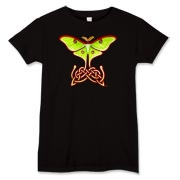 Celtic Lunar Moth Women's T-Shirt
