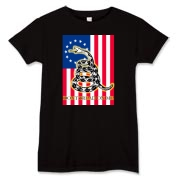 Don't Tread on Me- Revolution (vertical) Women's T