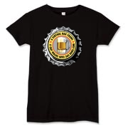 Women's T-Shirt with Yellow 365 Bars Logo. For Dark Colors (including Black). Use the Drop Down Menu.