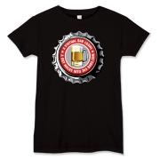 Women's T-Shirt with Red 365 Bars Logo.  For Dark Colors (including Black).  Use the Drop Down Menu.