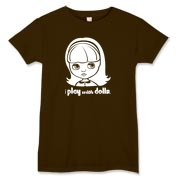 I Play with Dolls Blythe Women's T-Shirt