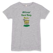 So you're on the playground of your school and in charge of the kids- Want to really make them laugh and mess with them? This Goat Do not Play on the Grass Official Yard Duty Tee is sure to do both.