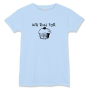 Will Run for Cake Women's T-Shirt