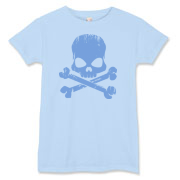 Blue Skull Women's T-Shirt