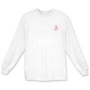 Join the fight against breast cancer in South Carolina! Show you care and be aware with a Join the Fight Pink Ribbon Palmetto Moon Deluxe Long Sleeve T-Shirt. Proceeds from Pink Ribbon Palmetto Moon Join the Fight products donated to help find a cure.