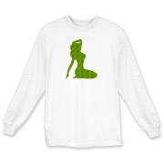 Pin Up Tiger Long Sleeve T-Shirt