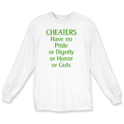 Cheaters Long Sleeve T-Shirt