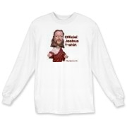 This long sleeve Jeebus shirt will protect you from terr'ists fondling your elbows, order now
