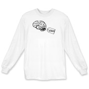 My Brain Long Sleeve T-Shirt