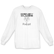 Disney Dudes Podcast Monorail Long Sleeve T-Shirt