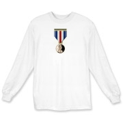 Pennies For Heroes Medal Long Sleeve T-Shirt