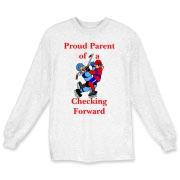 Proud of Checking Forward Long Sleeve T-Shirt