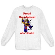 Goalie Grandparent Long Sleeve T-Shirt