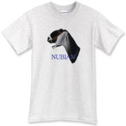 Awesome drawn nubian dairy goat art on a quality top of the line product
