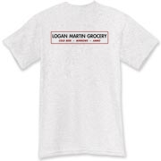 I grew up on Logan Martin Lake. This shirt throws back to the little corner groceries that had everything you'd need for the weekend, that lined the shores of the lake. If you're a small town kind of guy, you know the ones.