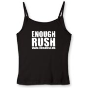 Enough Rush Women's Fitted Spaghetti Strap Tank