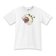Shark Ball White Kids T-Shirt