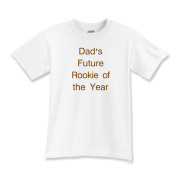 Dad Future Rookie of the year Kids T-Shirt