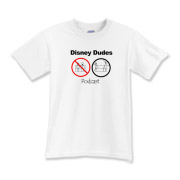 Disney Dudes Podcast Warning Kids T-Shirt