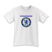 Cheer on Chelsea FC with the shirt that displays one of their famous gameday chants!