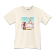 "You are viewing a gift, tee, card, or collectible by Google & MSN's #1 ranked offbeat cartoon gifts  The Rick London Collection. We are the official licensed venders or all Londons Times Cartoons merchandise. This item showcases the cartoon titled ""Wa"