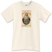 The Ohio Gum Co. is a vintage poster from 1903. This retro t-shirt has a distressed look that seems like you've had it for years.