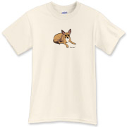 Wear this Coveman design of a cute little pet dog