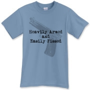 Heavily Armed T-Shirt